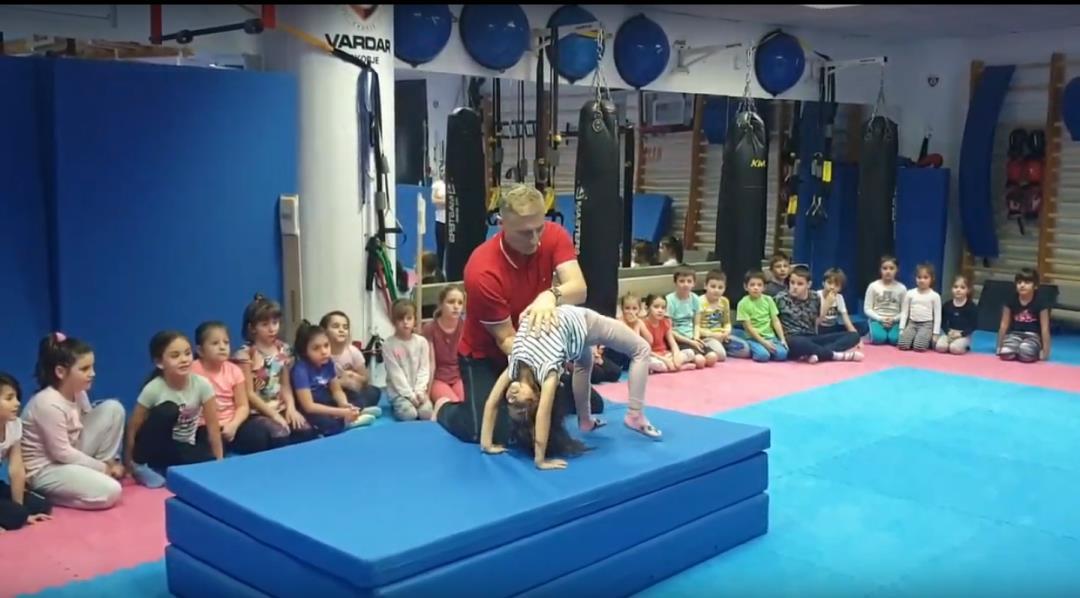 Rad sa najmlađima u Sportskom Centru Vardar u Skoplju