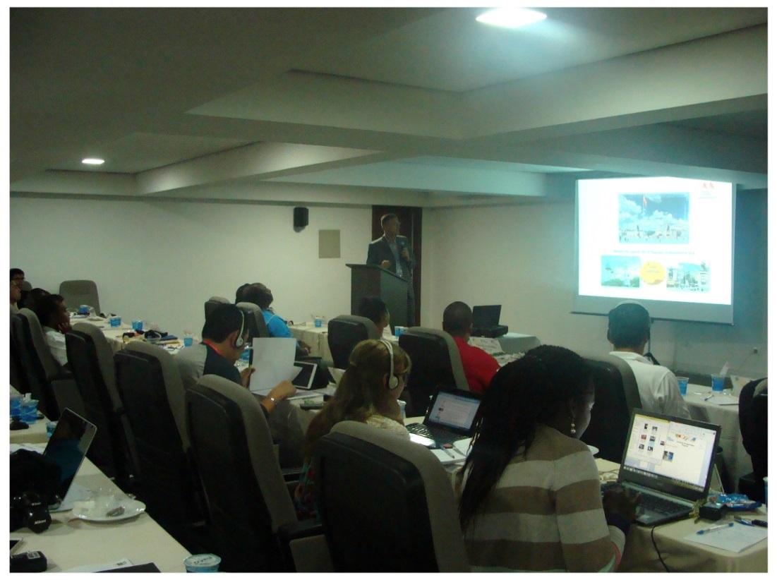 Na predavanju u organizaciji Brazilskog Olimpijskog Komiteta pred LOI - Rio De Zaneiro