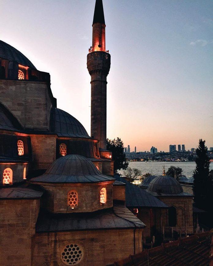 Mihrimah Sultan džamija (Üsküdar), fotografija ustupljena za sebilj.net iz privatne arhive