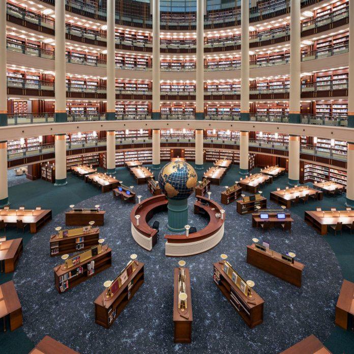 Turska nacionalna biblioteka u okviru predsjedničkog kompleksa u Ankari, Foto: www.milletkutuphanesi.gov.tr