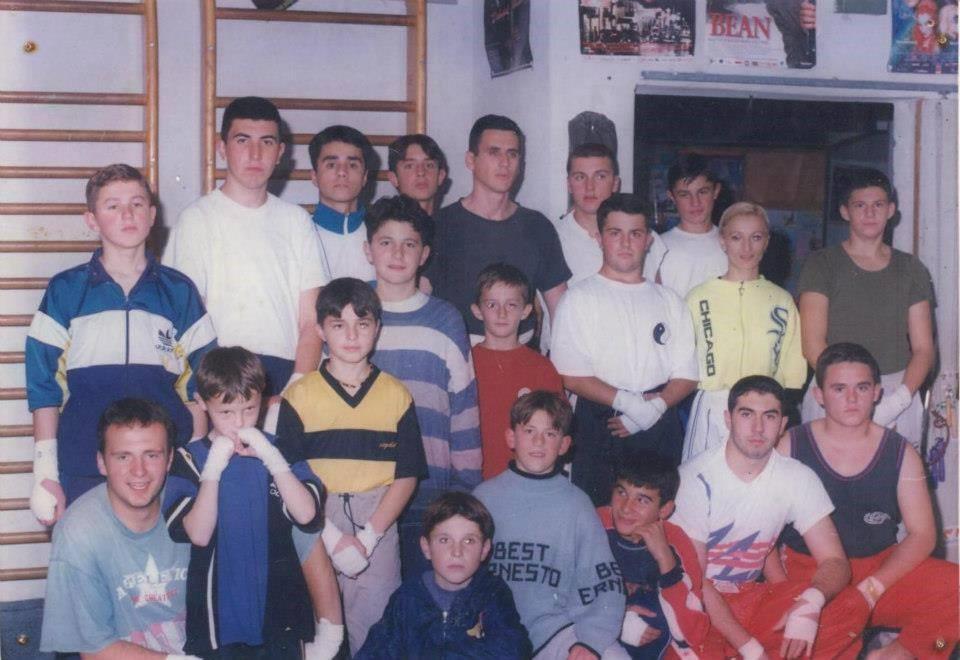 Samir Bačevac - trener grupe za kik-boks.