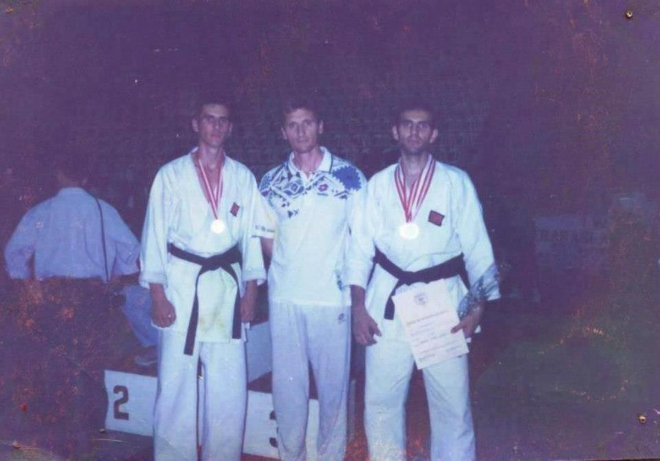 Samir Bačevac, Nazim Kurtović i Zoran Pejov (s lijeva na desno).